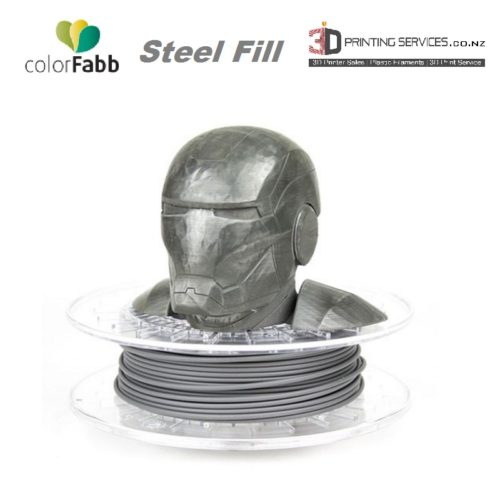 ColorFabb SteelFill 3D Printing Filament NZ