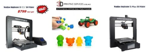 Wanhao i3 3d printer sale NZ banner