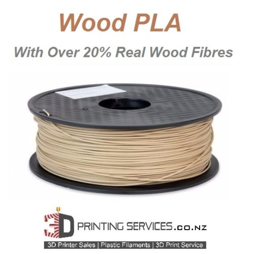 wood pla 3D Printer Filament NZ