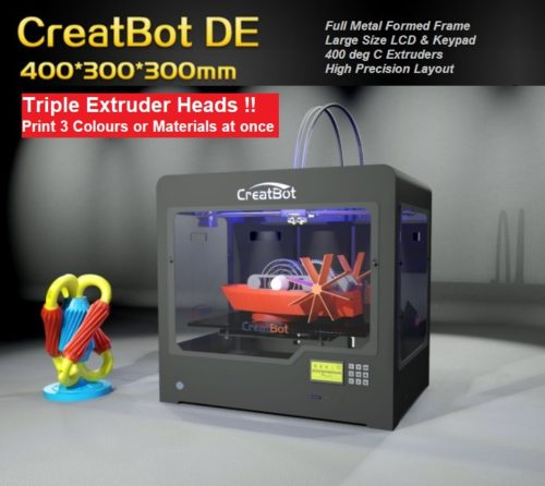 Creatbot DE 3 Head 3D Printer NZ