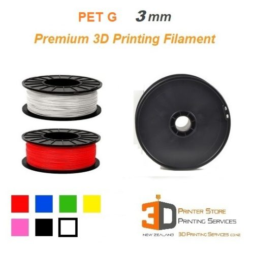 PetG 3D Printing Plastic Filament in NZ