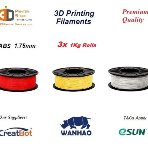 ABS Filament 1.75mm 3D Printing NZ sale