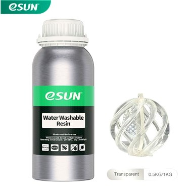 Water Wash Clear 3D Printer Resin New Zealand