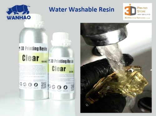 Water Washable SLA Resin 3d printing NZ