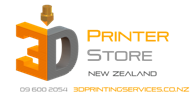 3D Printer Store NZ Logo