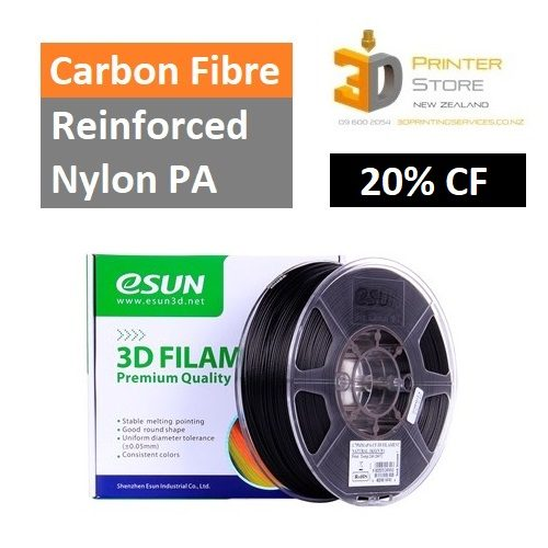 Esun Carbon Fibre Nylon 3D Printer Filament in NZ