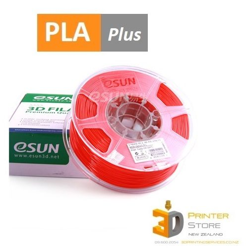 Esun PLA+ Red 3D Printing Filament NZ