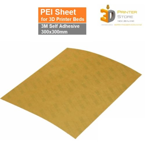 PEI Sheets with 3M Tape Bed Build Surface 3D Printer Store NZ