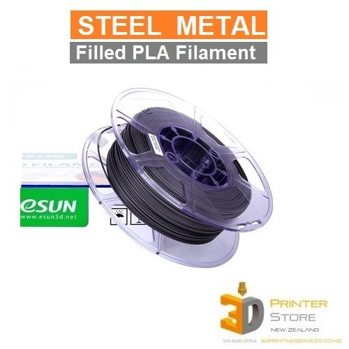 esun steel 3d printer filament nz