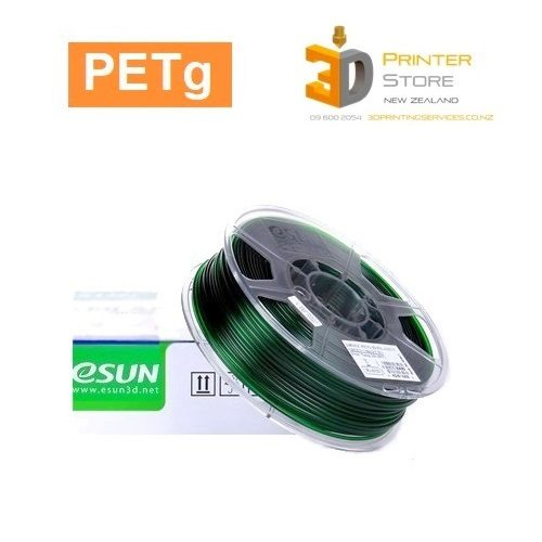 PETG filament NZ esun green