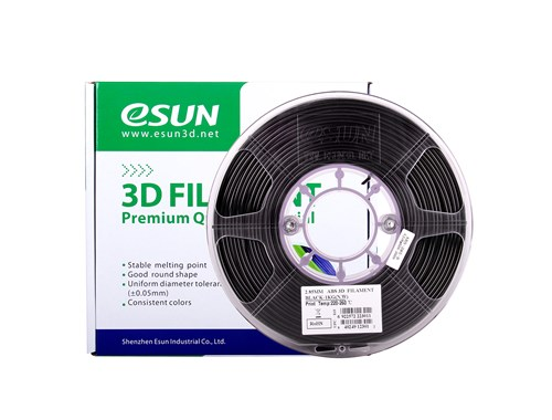 esun abs black 2.85mm filament nz