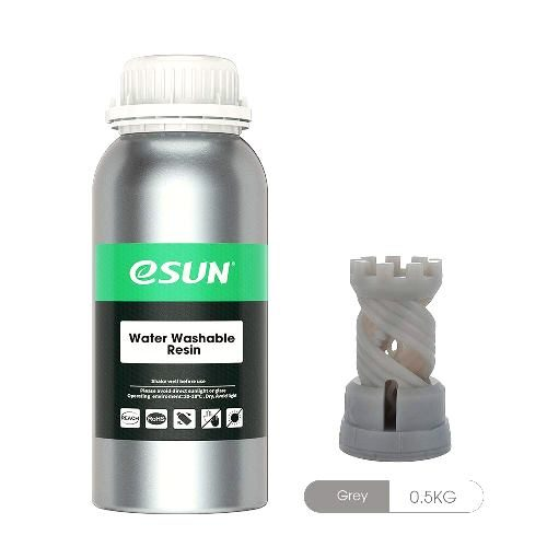 Esun Water wash 3d printing resin gray new zealand