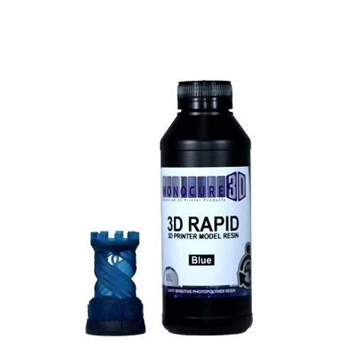 3D Printing Resin Blue 0.5 Lt NZ